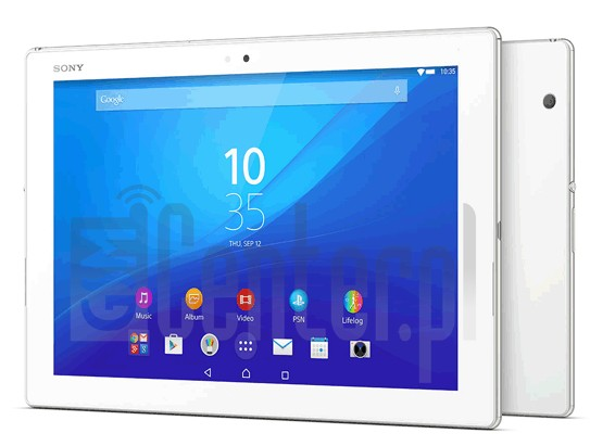 SONY SGP771 Xperia Z4 Tablet LTE image on imei.info