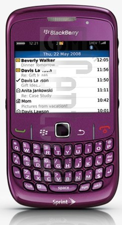 BLACKBERRY 8530 Curve image on imei.info