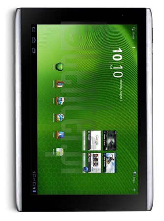 ACER A500 Iconia Tab image on imei.info