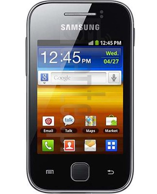 SAMSUNG S5367 Galaxy Y TV image on imei.info