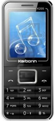 KARBONN K205 PLUS image on imei.info