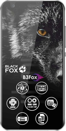 IMEI Check BLACK FOX B3 Fox on imei.info