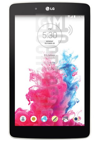 LG UK410 G Pad 7.0 LTE image on imei.info