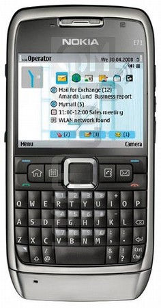 NOKIA E71 image on imei.info