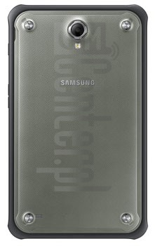"SAMSUNG T365 Galaxy Tab Active 8.0"" LTE image on imei.info"