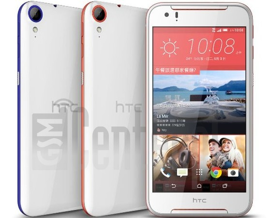 HTC Desire 830 image on imei.info