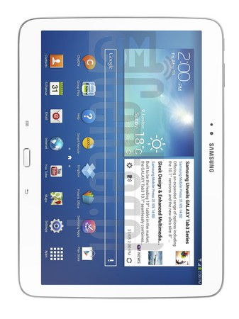 SAMSUNG P5210 Galaxy Tab 3 10.1 WiFi image on imei.info