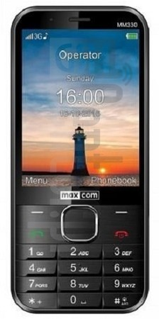 MAXCOM MM330 image on imei.info