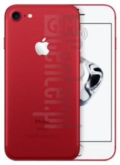 APPLE iPhone 7 RED Special Edition image on imei.info