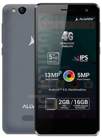 ALLVIEW P8 Life image on imei.info