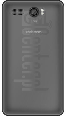 KARBONN A108 image on imei.info