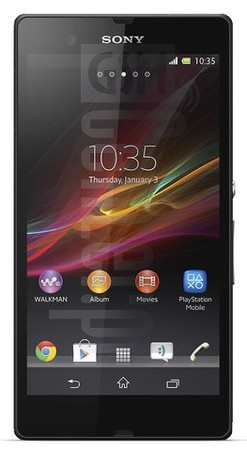 SONY Xperia Z L36a C6606  image on imei.info