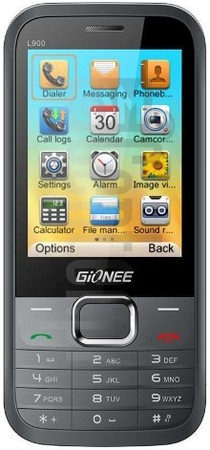 GIONEE L900 image on imei.info