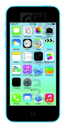 APPLE iPhone 5C image on imei.info