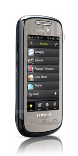 SAMSUNG M810 image on imei.info