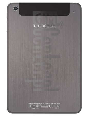 TEXET TM-7868 X-pad SHINE 8.1 3G image on imei.info