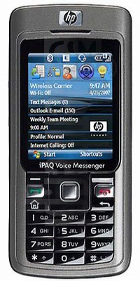 HP iPAQ 510 image on imei.info