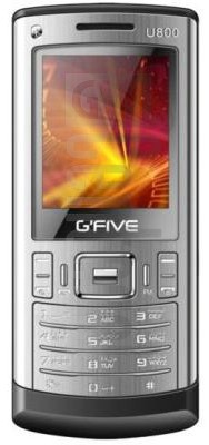 GFIVE U800 image on imei.info