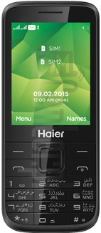 HAIER M108 image on imei.info