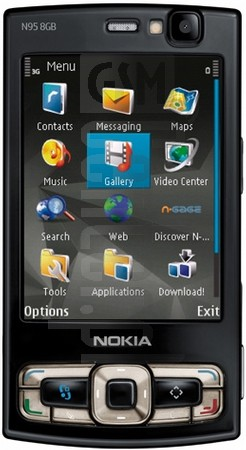NOKIA N95 8GB image on imei.info