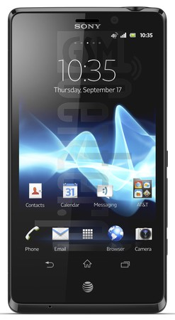 SONY Xperia TL LT30at  image on imei.info