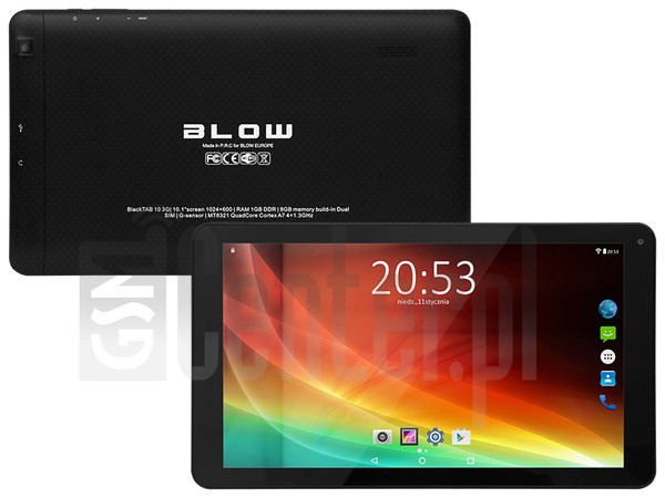 BLOW BlackTAB10 3G image on imei.info
