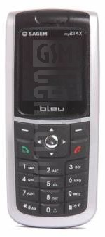 SAGEM MY 214x image on imei.info