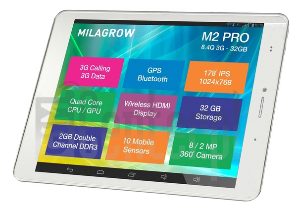 MILAGROW M2Pro 3G 32GB image on imei.info