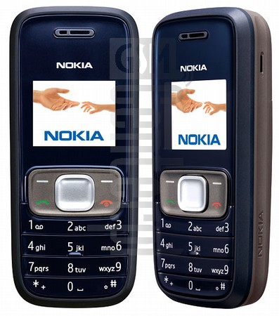 NOKIA 1209 image on imei.info