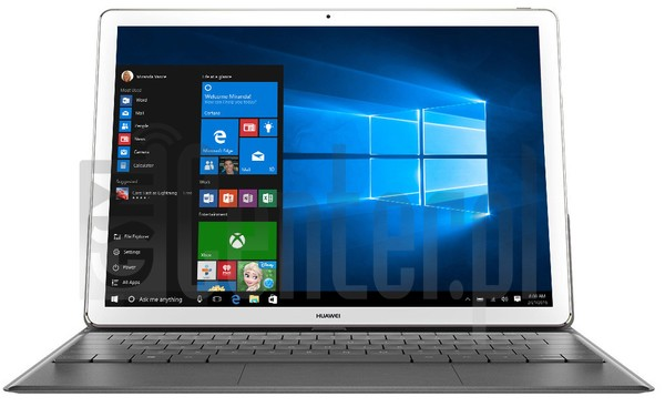"IMEI Check HUAWEI MateBook 12"" on imei.info"