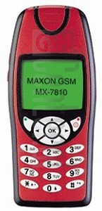 MAXON MX-7810 image on imei.info