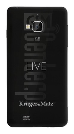 KRUGER & MATZ LIVE image on imei.info