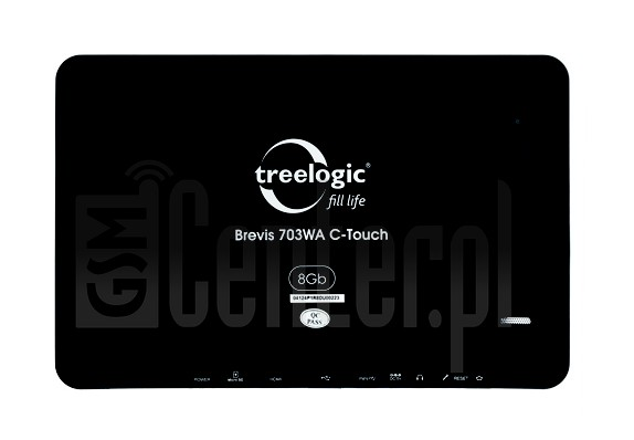TREELOGIC Brevis 703WA 8Gb C-Touch image on imei.info