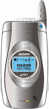 MAXON MX-7850 image on imei.info