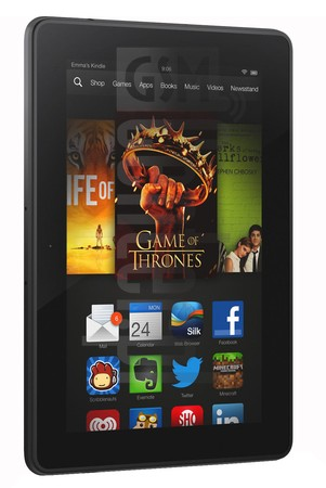 AMAZON Fire HDX 8.9 LTE 2014 image on imei.info