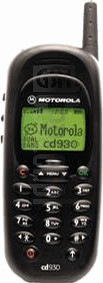 IMEI Check MOTOROLA CD930 on imei.info