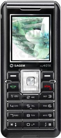 SAGEM MY 401X image on imei.info