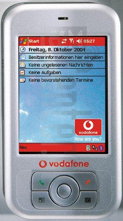 VODAFONE VPA Compact (HTC Magician) image on imei.info
