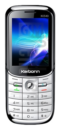KARBONN KC540 image on imei.info