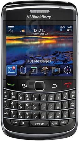 BLACKBERRY Bold 9700 image on imei.info