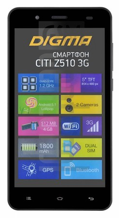 IMEI Check DIGMA Citi Z510 3G on imei.info