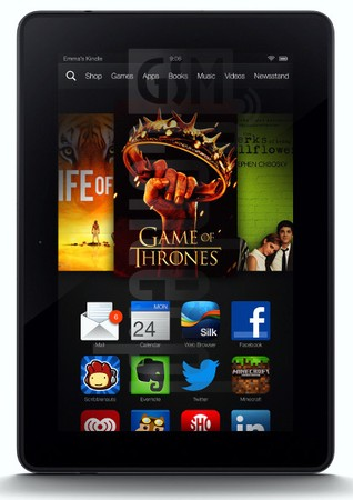 AMAZON Kindle Fire HDX 7 LTE image on imei.info