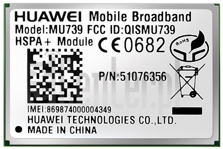 IMEI Check HUAWEI MU739 on imei.info