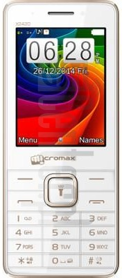 MICROMAX X2420 image on imei.info