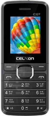 CELKON C327 image on imei.info