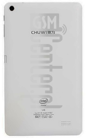 CHUWI Hi8 image on imei.info