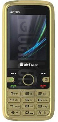 AIRFONE AF-165 image on imei.info