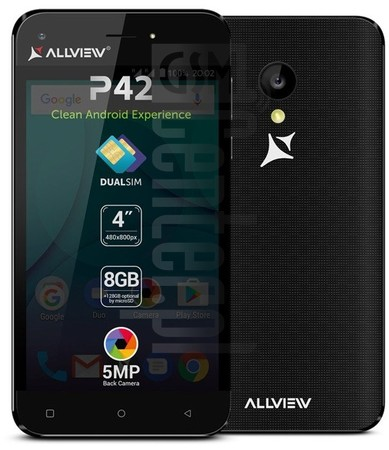 ALLVIEW P42  image on imei.info