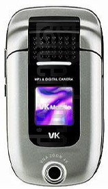 VK Mobile VK3100 image on imei.info