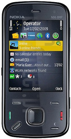 NOKIA N86 8MP image on imei.info